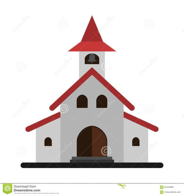 Simple Church Clip Art