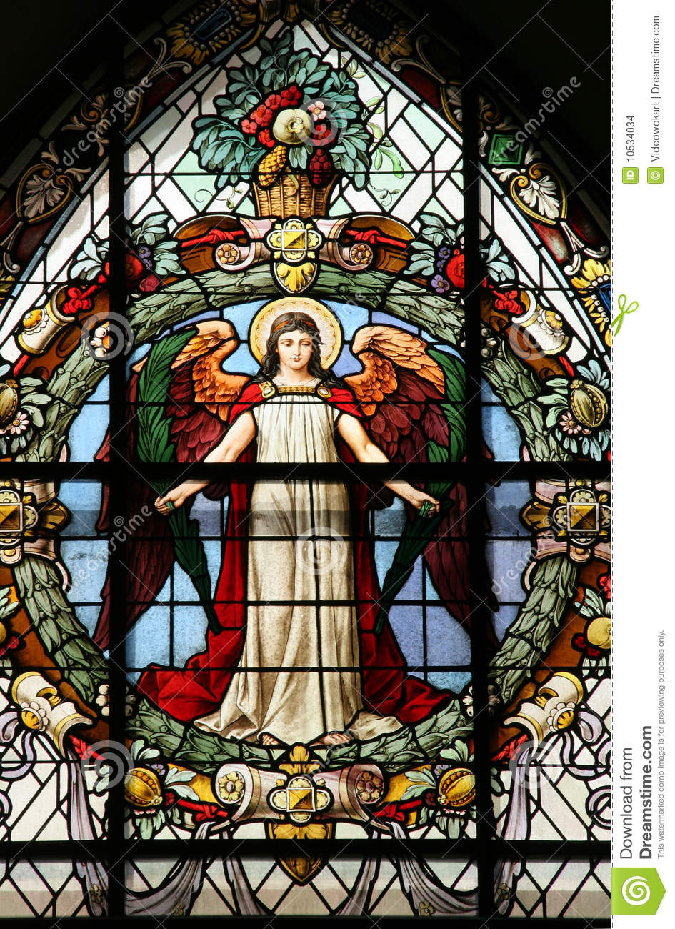 Beautiful Stained Glass Window Stock Images Image 10534034
