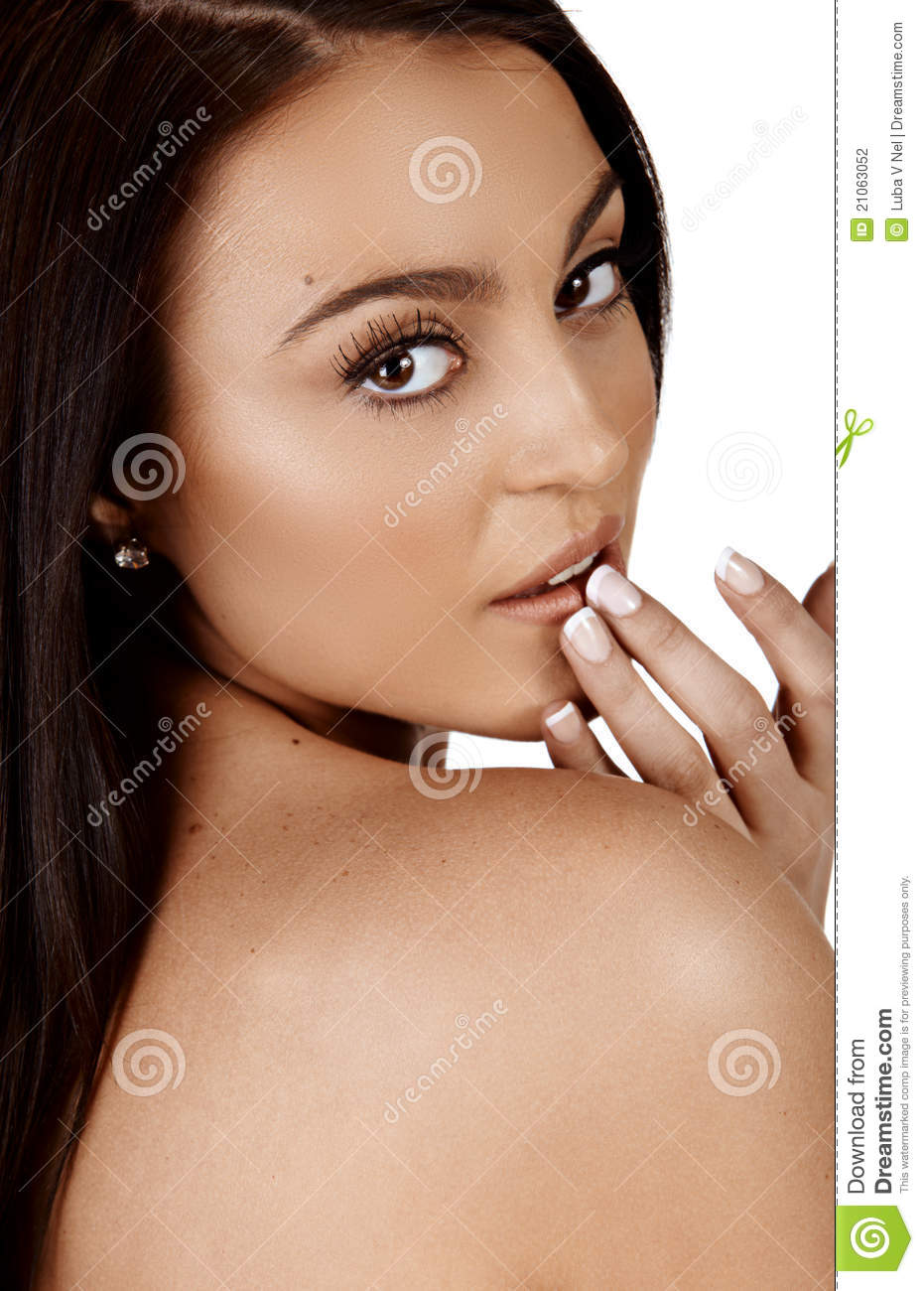 Beautiful Tanned Woman Stock Photography Image 21063052
