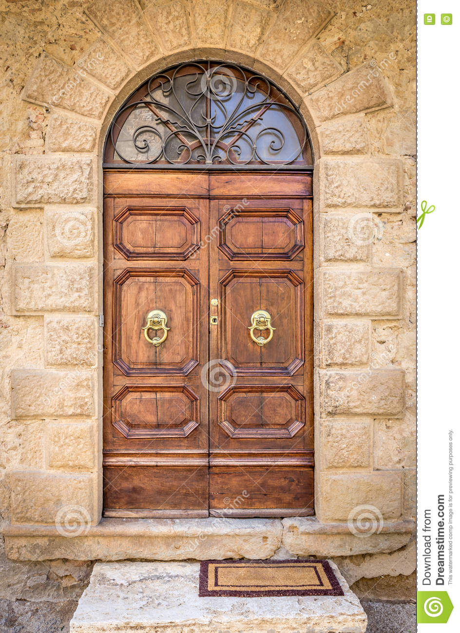 Beautiful vintage doors stock image Image of antique