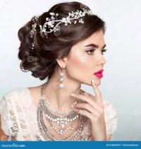 Wedding Hair With Jewels | Fade Haircut