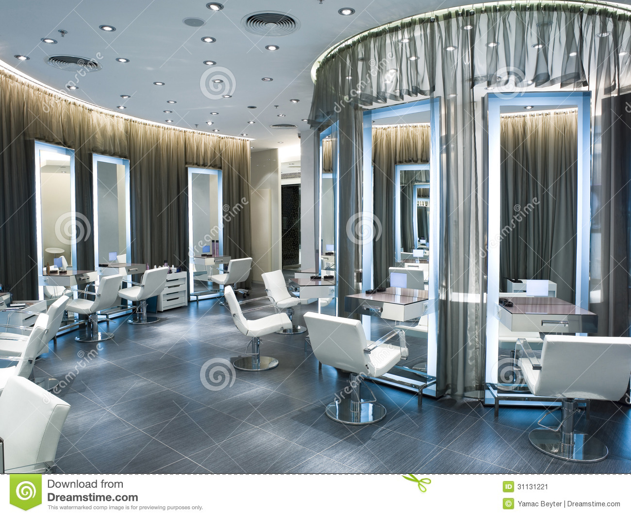 Beauty salon stock image Image of elegance clean style