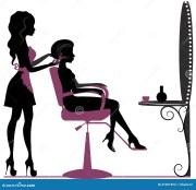 beauty salon stock vector. illustration