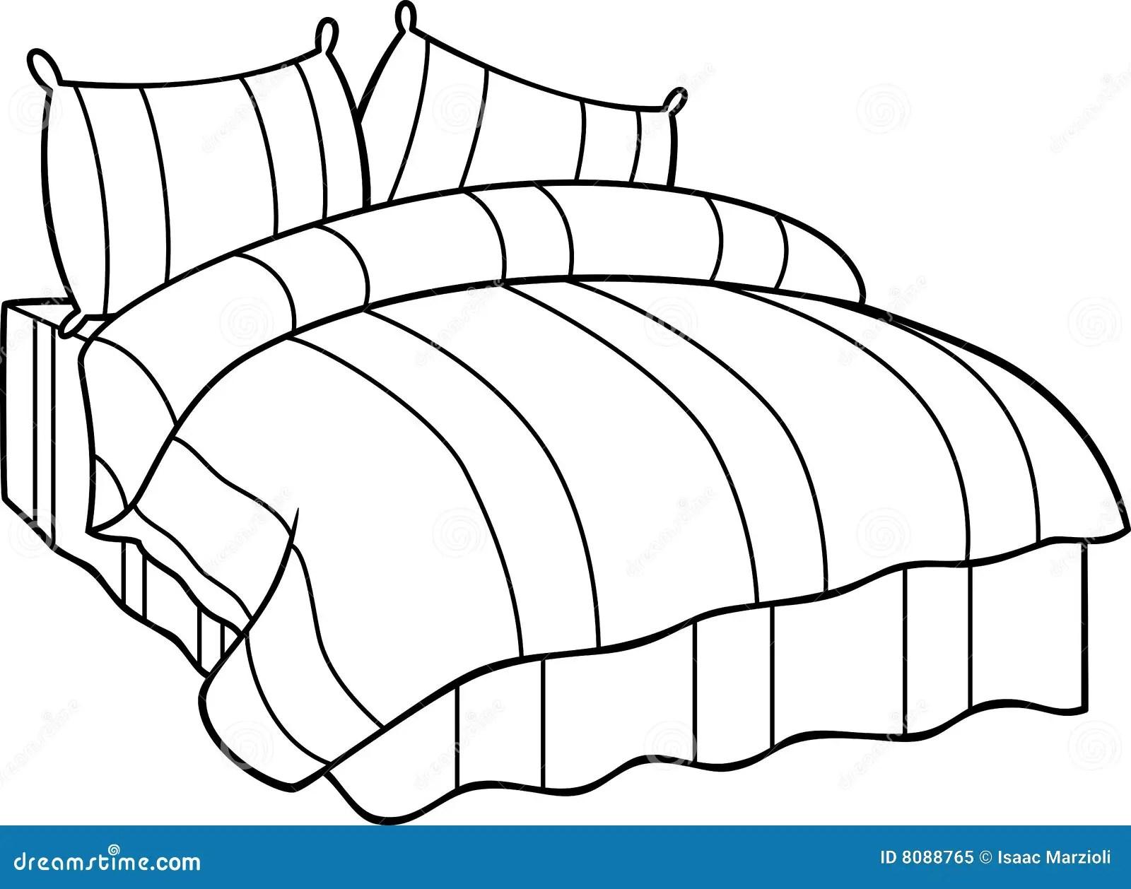 Bed Stock Vector Illustration Of Vector Illustration