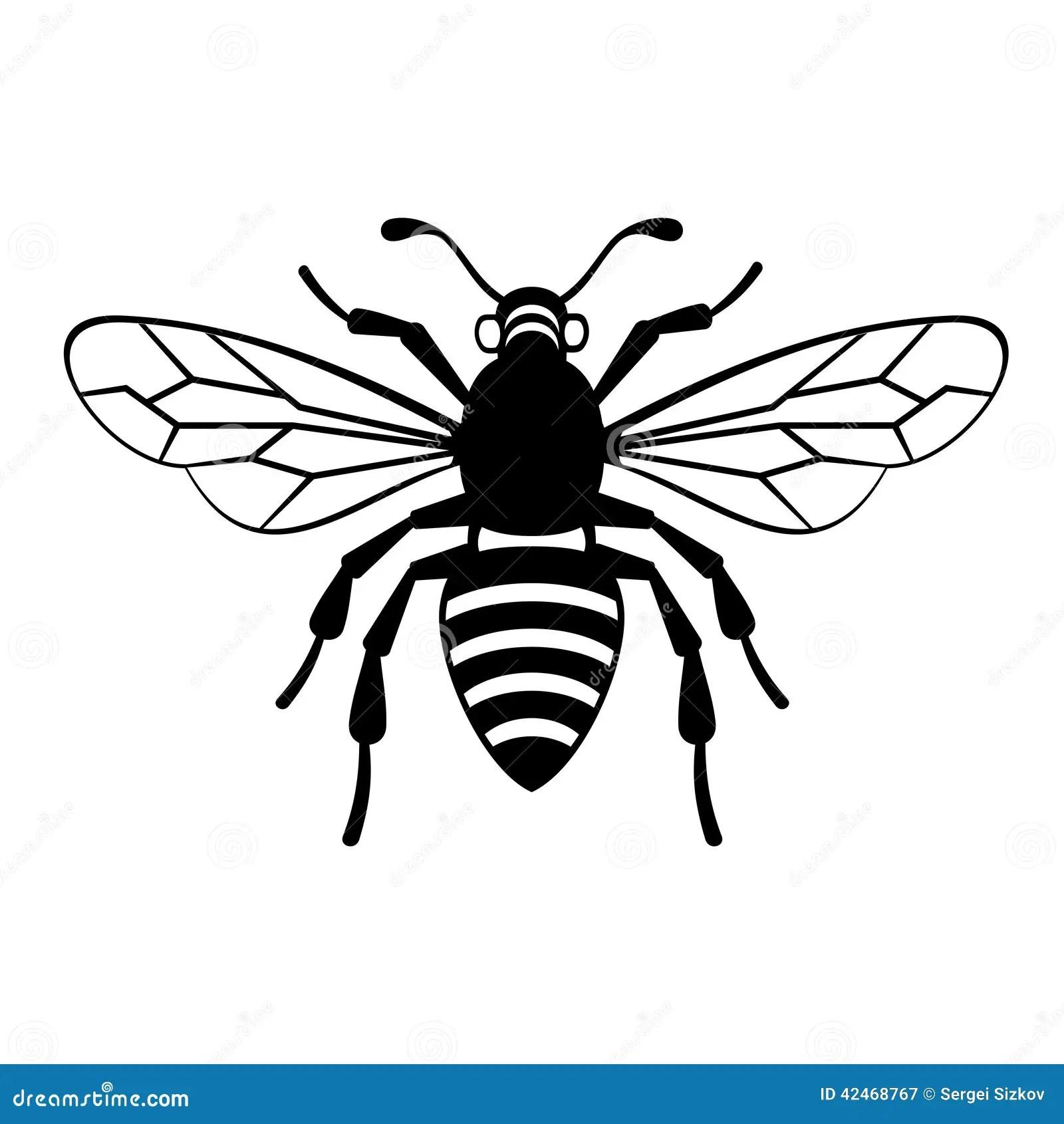 Vector Bee Icon Cartoon Vector