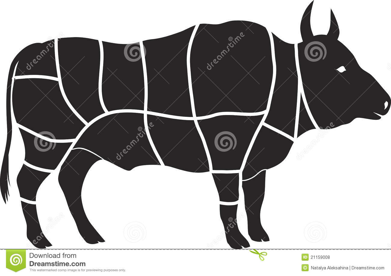 beef meat diagram pressure switch for air compressor chart royalty free stock photos - image: 21159008