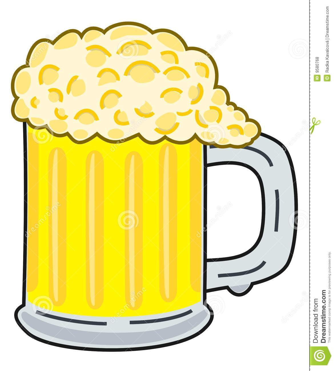 hight resolution of beer clipart