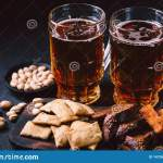 Beer And Snacks Set Pub Restaurant Bar Food Stock Image Image Of Finger Appetizer 141264601