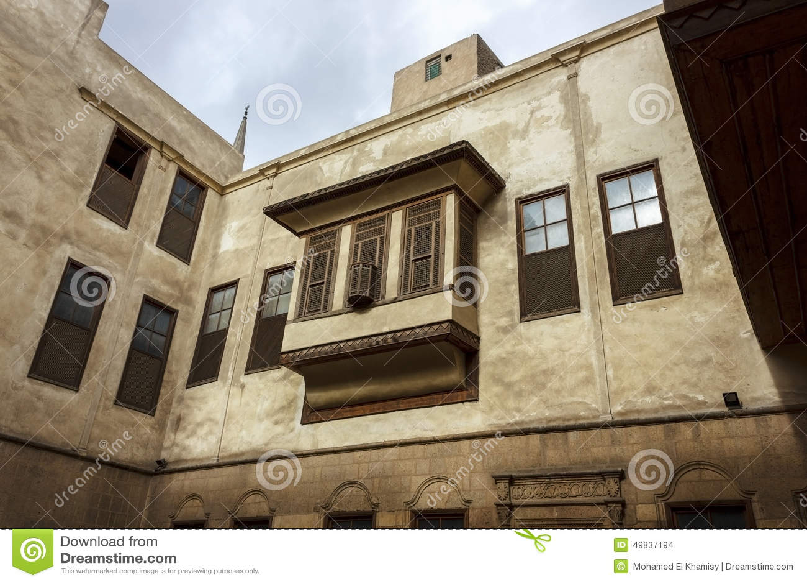 Beit AsSuhaymiTypical House In Islamic Cairo Stock Photo