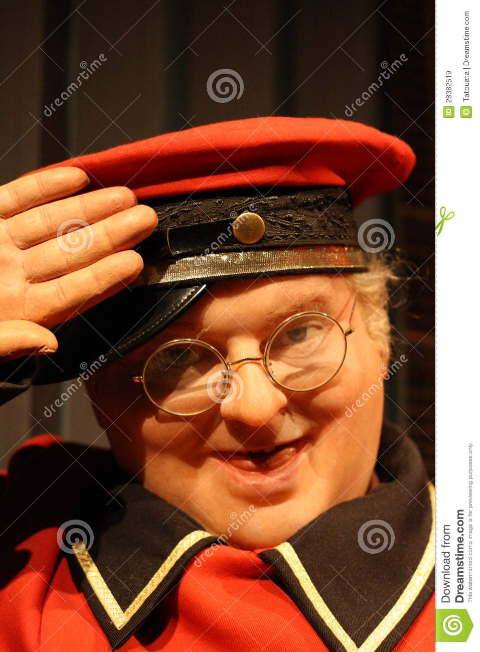 Benny Hill wax figure editorial stock image Image of hill  28382619