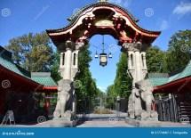 Zoo Elephant Gate Berlin