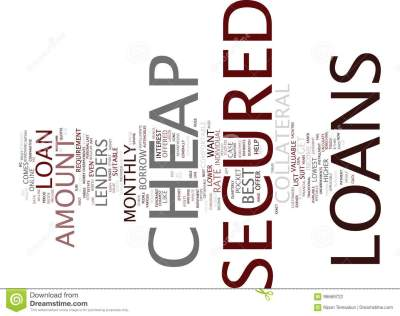 The Best Comes With The Lowest With Cheap Secured Loans ...