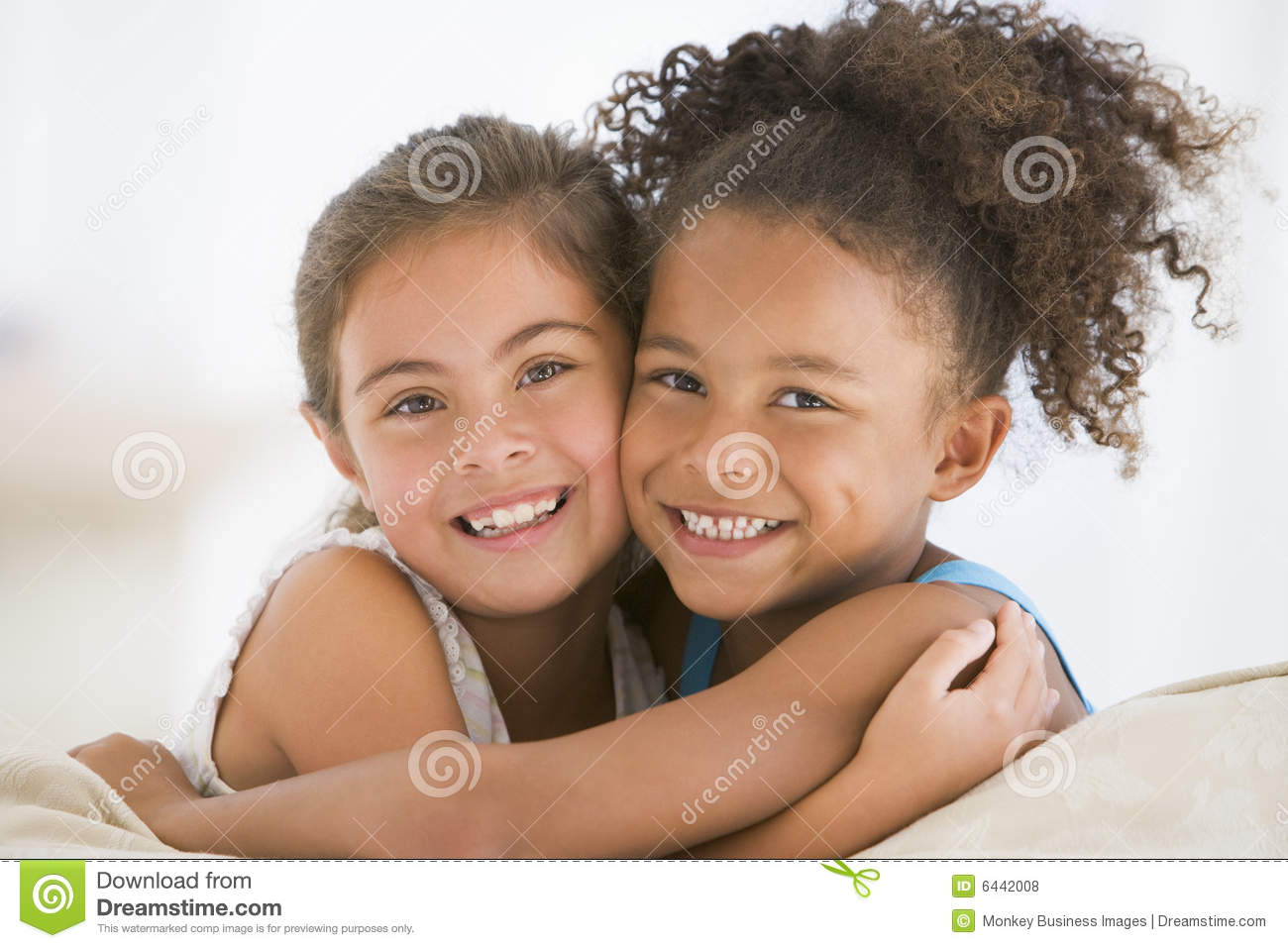 Best Friends Hugging Stock Photo Image Of Horizontal