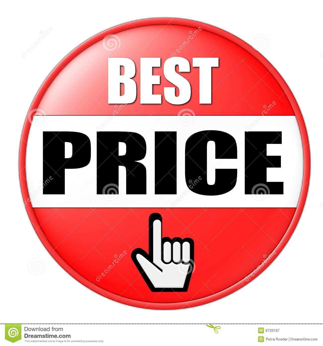 Best Price Button Royalty Free Stock Photography  Image 6733197