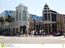 Beverly Hills Rodeo Drive Editorial - Of