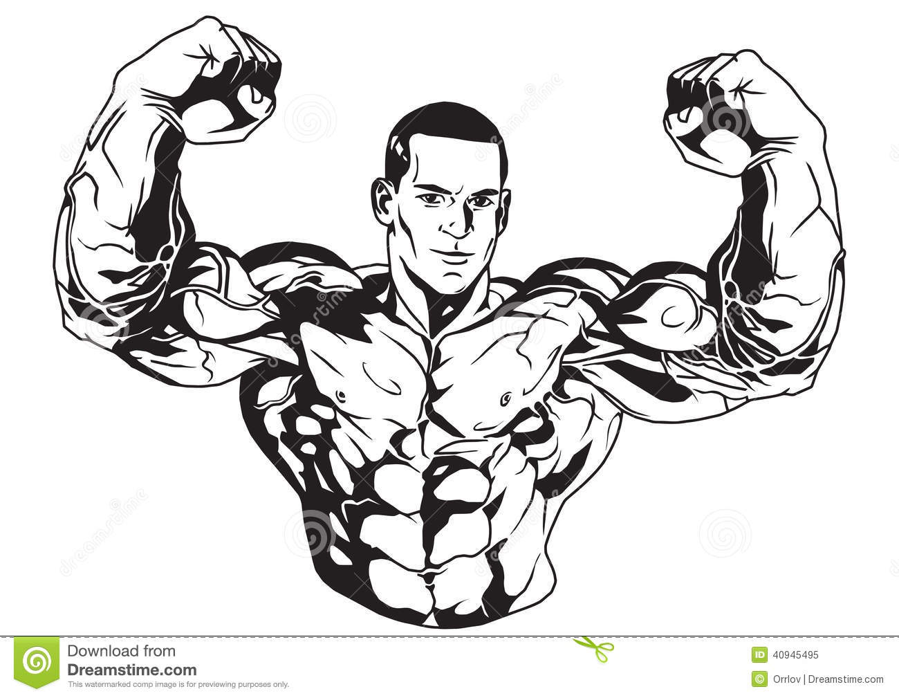 Biceps Stock Vector