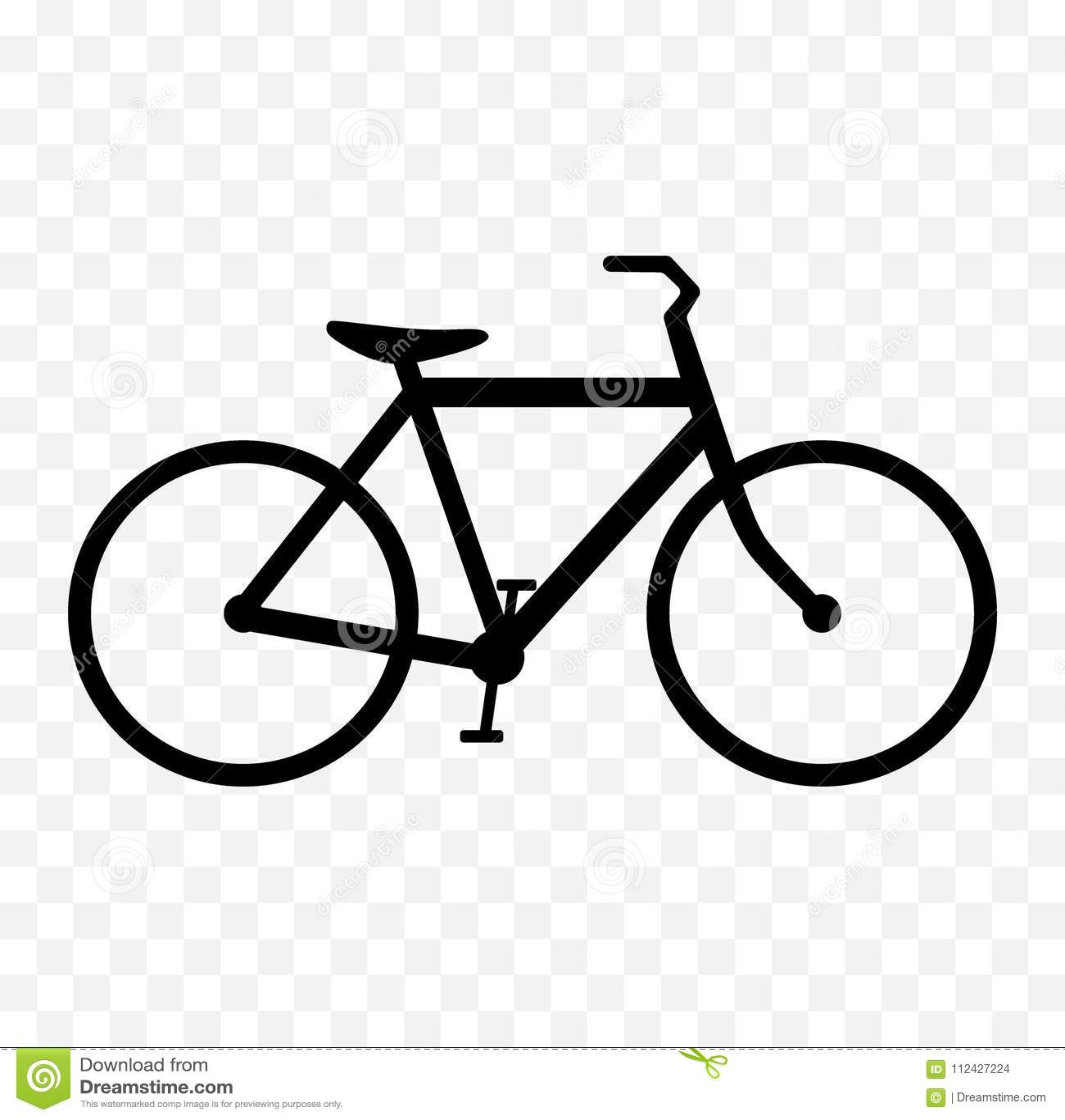 Vector icons bike