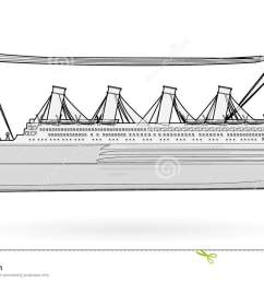 big boat legendary colossal boat black and white wire monumental big ship symbol  [ 1300 x 792 Pixel ]
