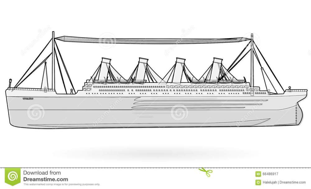 medium resolution of big boat legendary colossal boat black and white wire monumental big ship symbol
