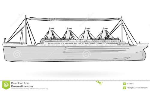 small resolution of big boat legendary colossal boat black and white wire monumental big ship symbol