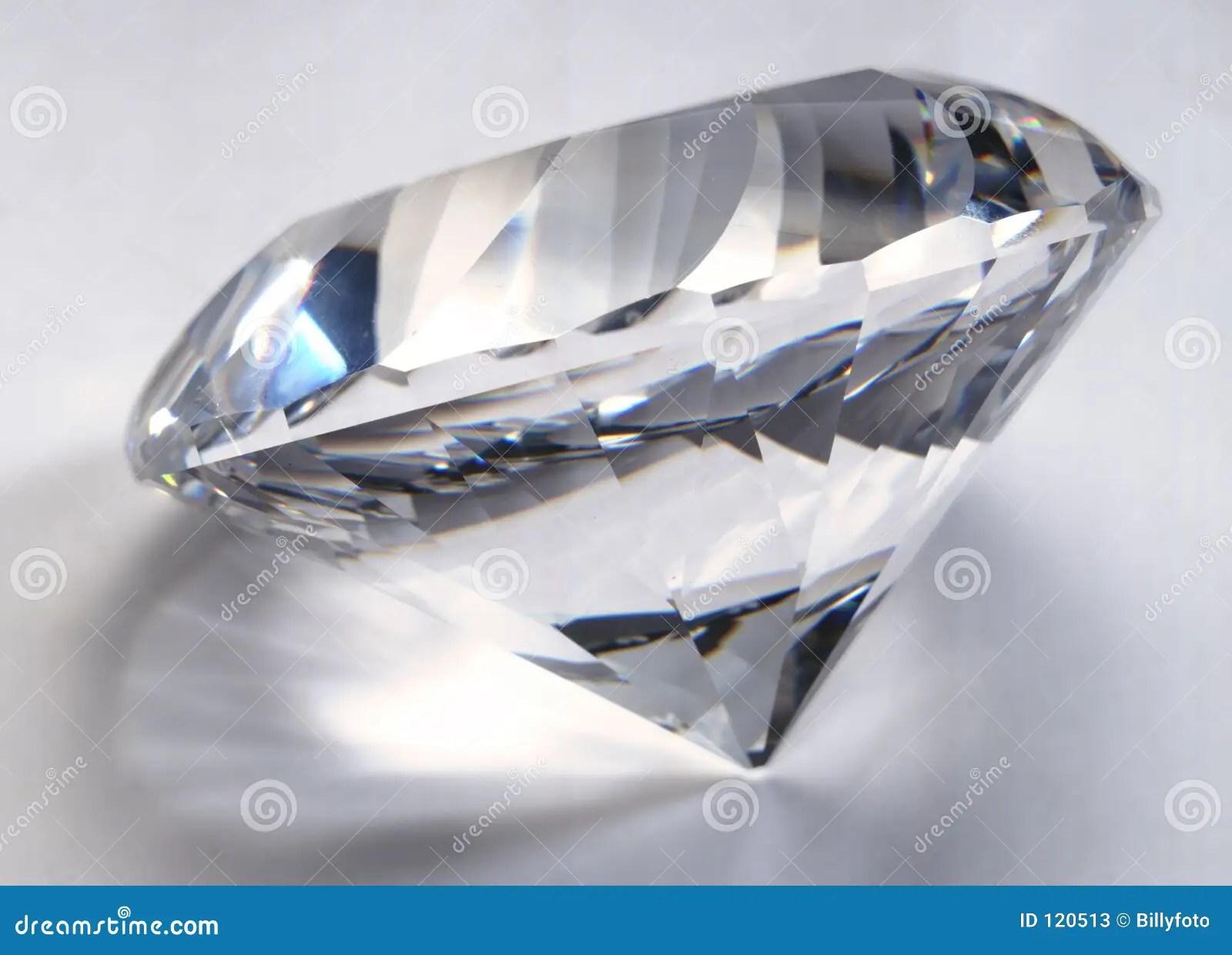 big diamond stock image