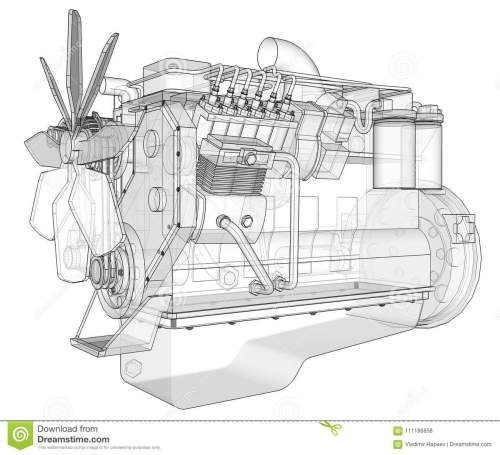 small resolution of a big diesel engine with the truck depicted in the contour lines on graph paper