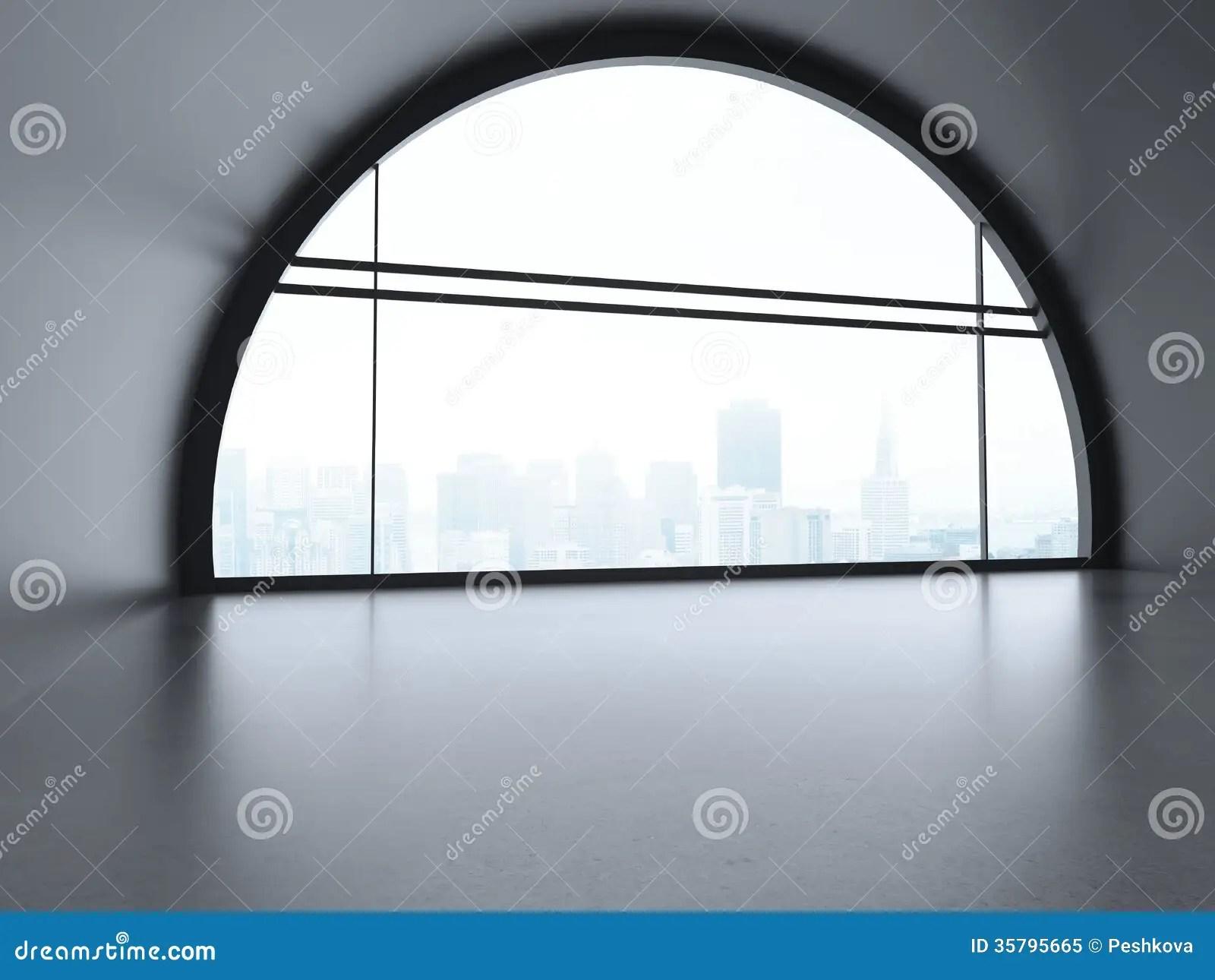 Big futuristic office stock image Image of city domestic