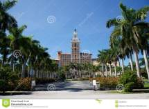 Biltmore Hotel In Coral Gables Miami Florida Stock