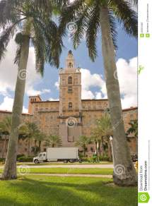 Biltmore Hotel Coral Gables Miami Editorial