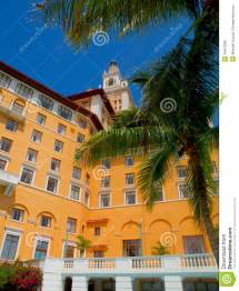 Biltmore Hotel And Gardens Coral Gables Florida Stock