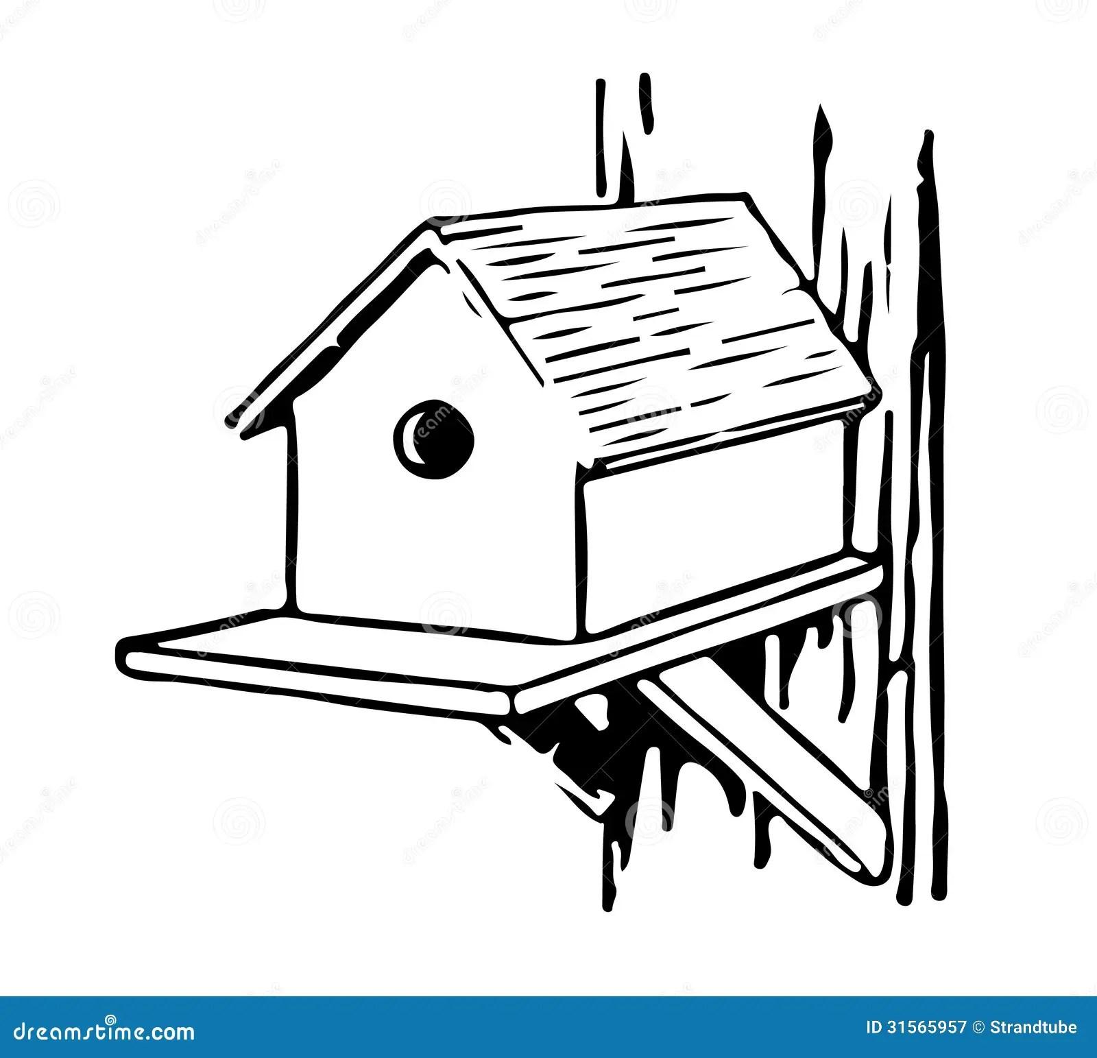 Bird Feeder stock illustration. Illustration of graphic
