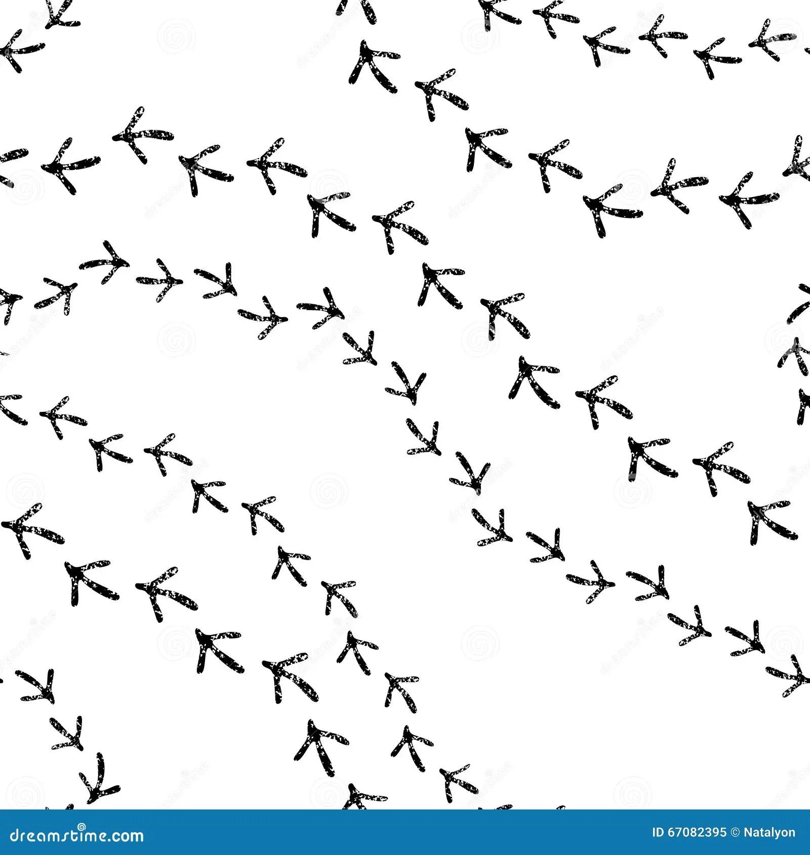White Track Vector Illustration