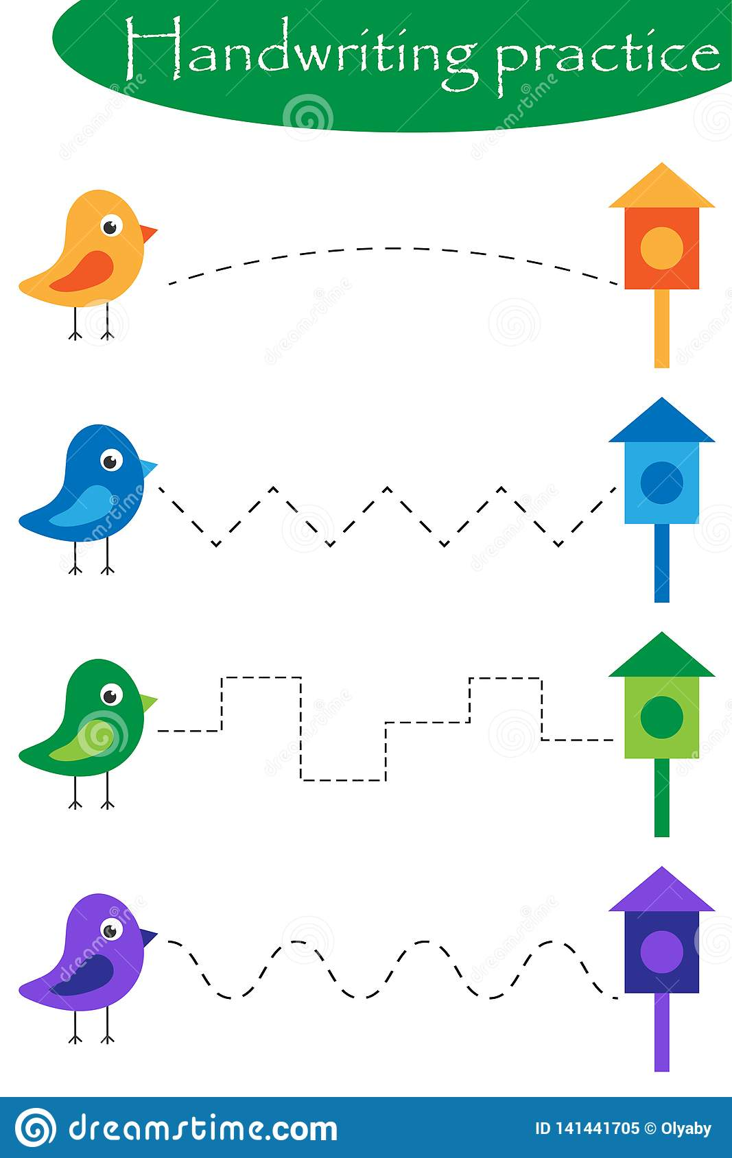 Bird Math Worksheets For Preschool