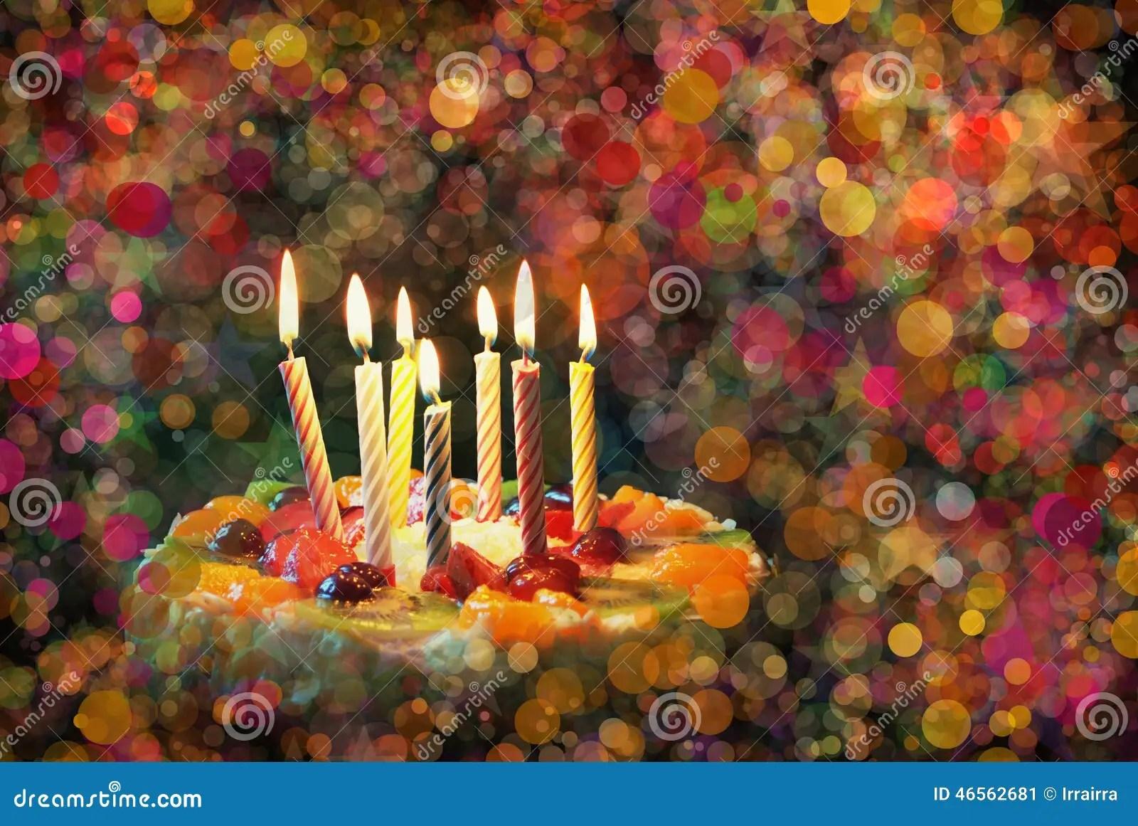 Birthday Cake Stock Photo Image 46562681