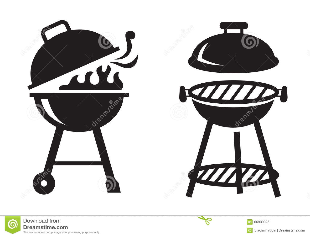 Rustic Outdoor Grill Time Royalty Free Stock Photography