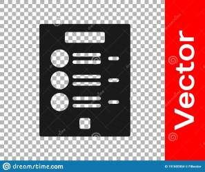 Black Coffee Menu Icon Isolated On Transparent Background Design A Menu For The Cafe A Restaurant Coffee Shop Vector Stock Vector Illustration of card blackboard: 191605964