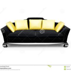 Gold Throws For Sofas Casket Sofa Couch Clipart Black And White Home Design Jobs