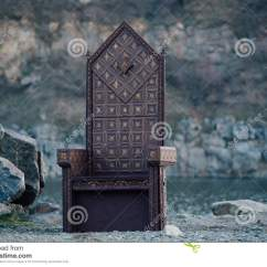 Black Gothic Throne Chair Wheelchair Stand For Car Stock Photo Image Of Royal 74095218