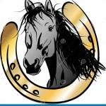 Horse Head Horseshoe Stock Illustrations 686 Horse Head Horseshoe Stock Illustrations Vectors Clipart Dreamstime