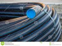 Black PVC pipe stock photo. Image of ground, building ...