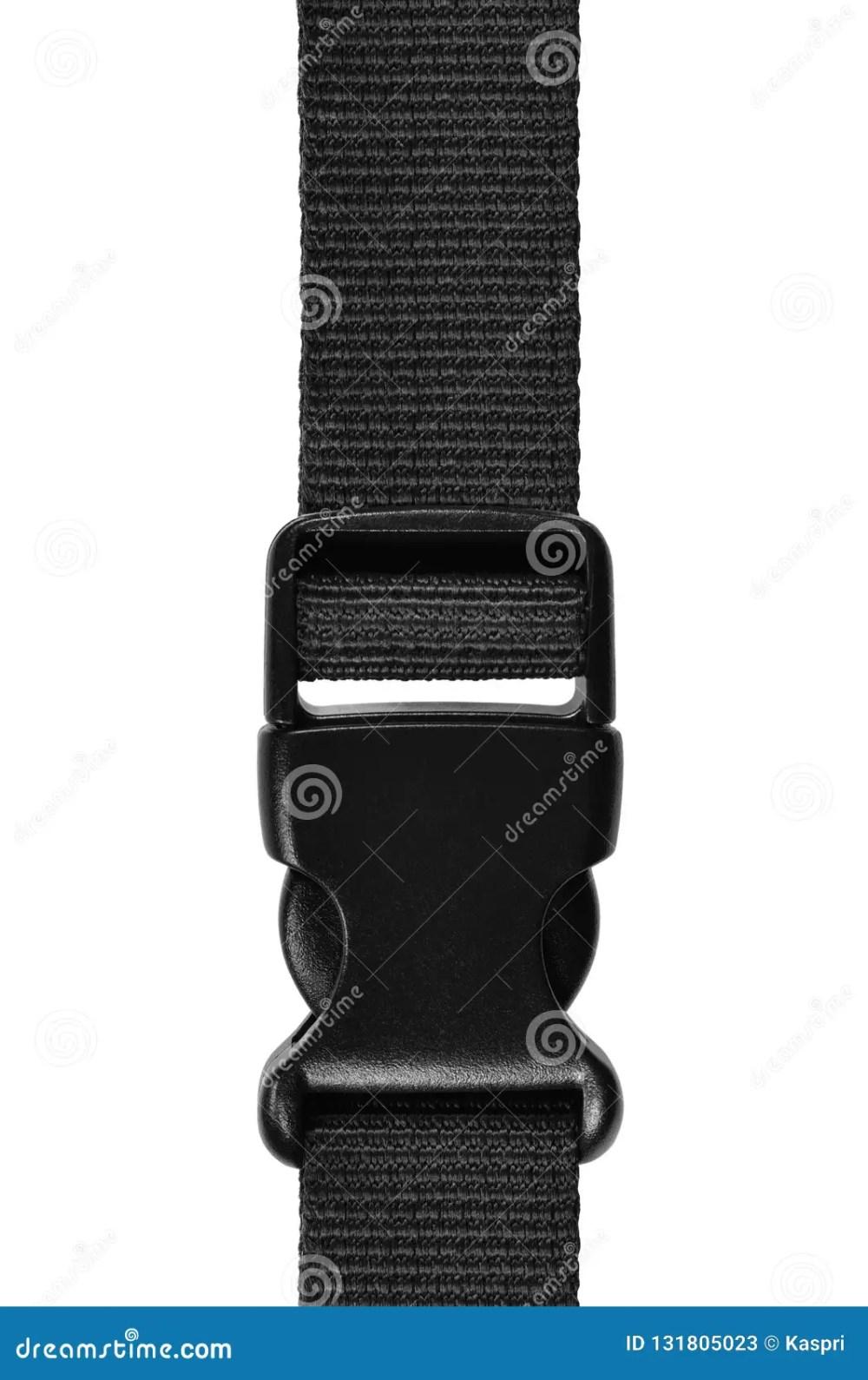 medium resolution of black side release acculoc buckle plastic clasp quick nylon belt rope lock strap isolated