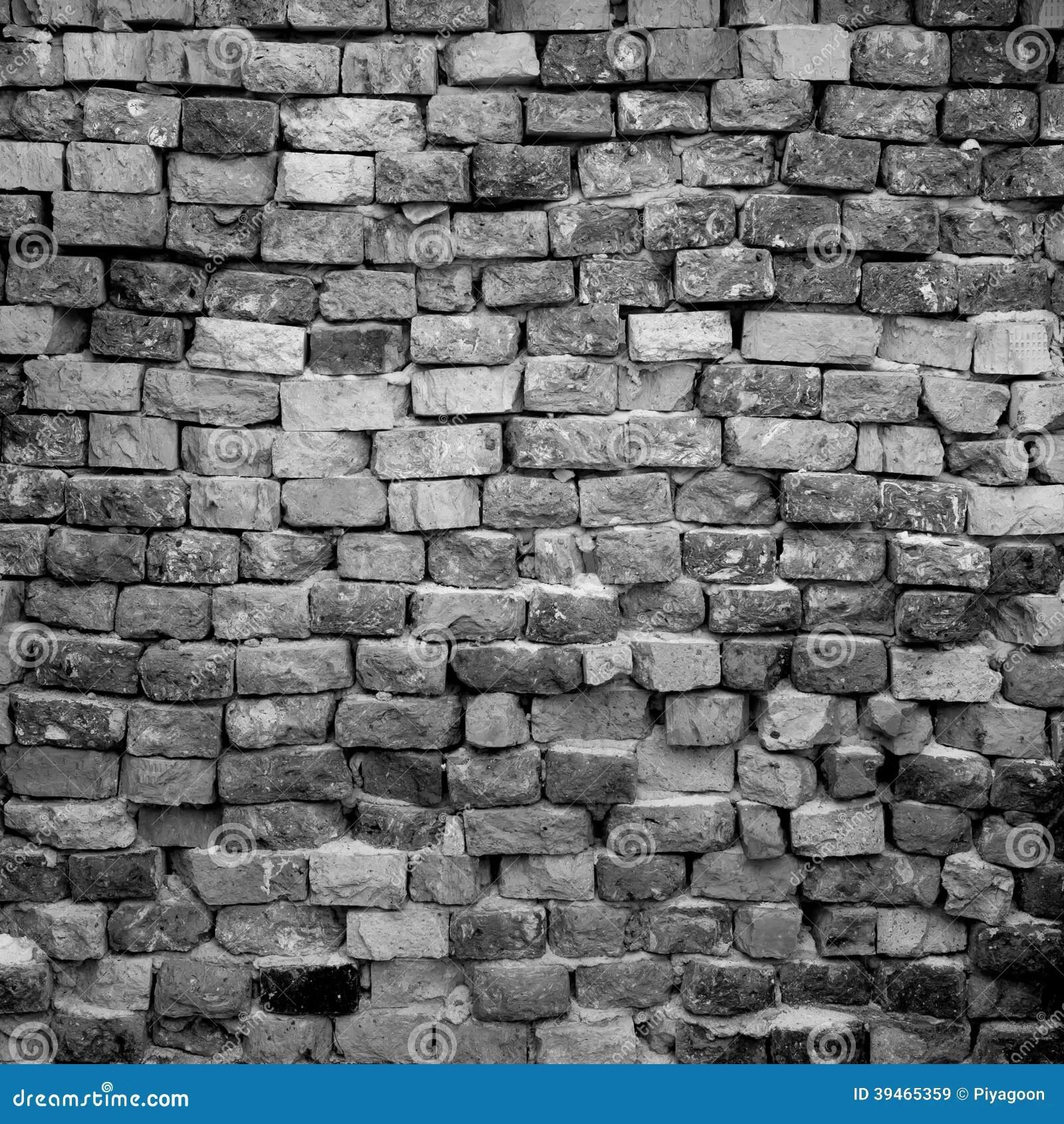 Black and white brick wall stock image. Image of brick