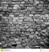 Black and white brick wall stock image. Image of brick