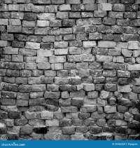Black and white brick wall stock image. Image of brick ...