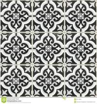 Black And White Ceramic Tile Texture For Background And ...