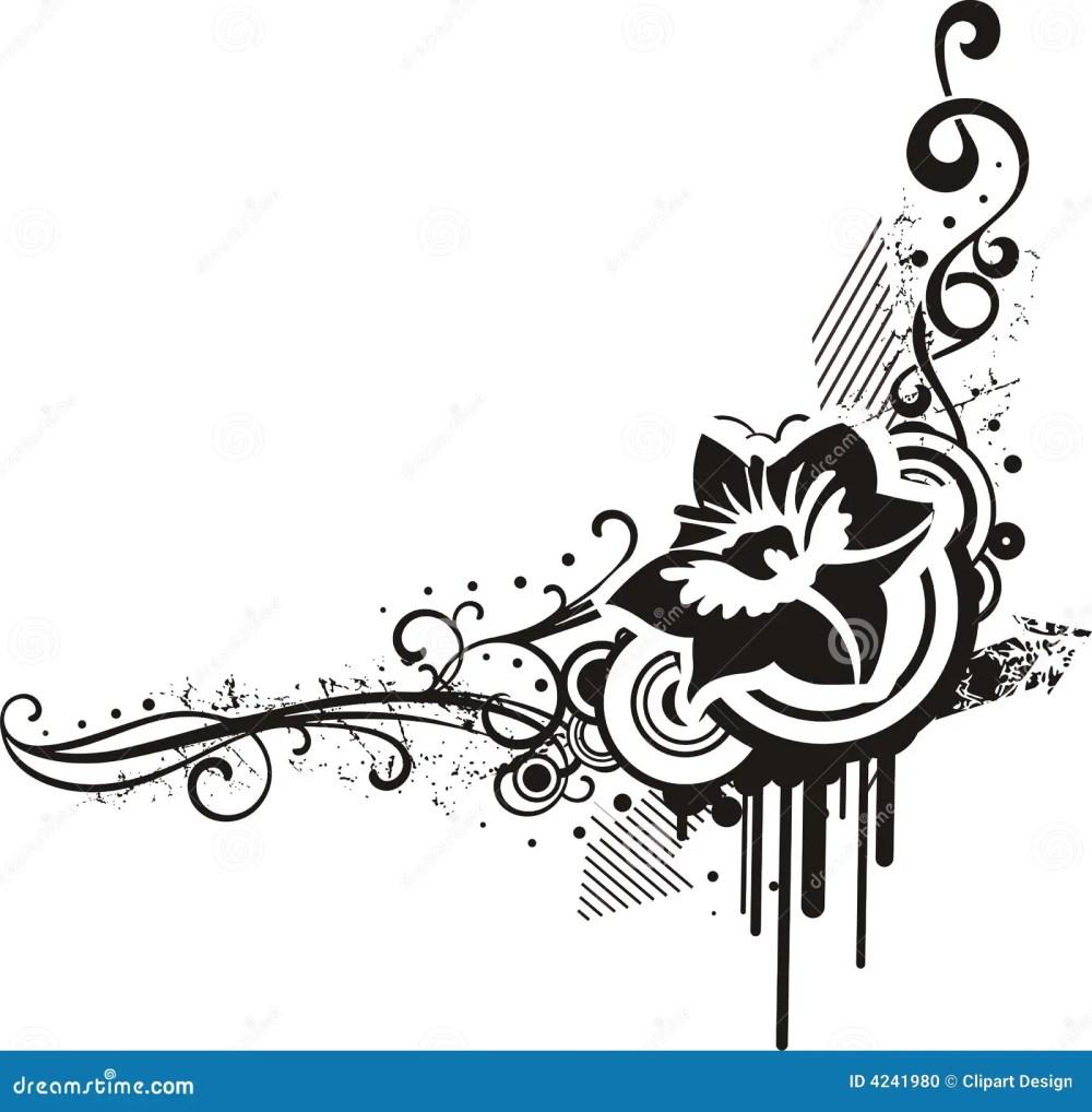 medium resolution of black white floral designs