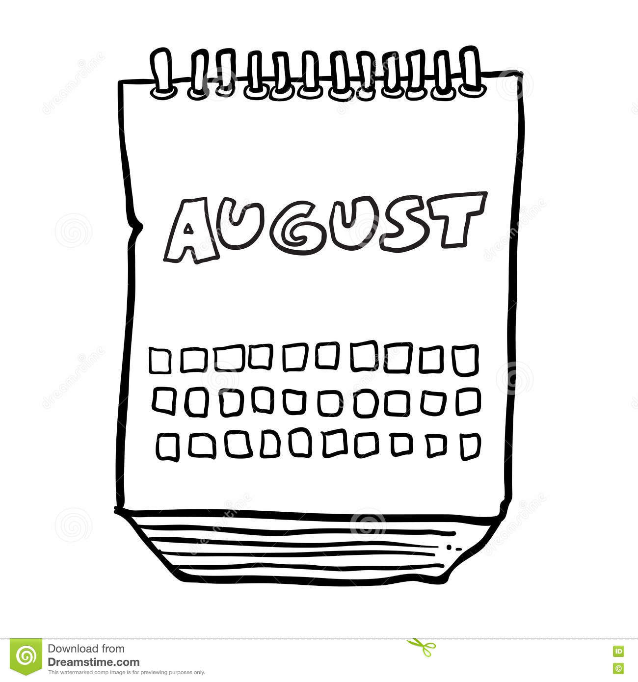 Cartoon Month Calendar Pictures to Pin on Pinterest