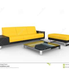Yellow Sofa Table Extra Long Brown Leather Black And Modern Coffee Stock