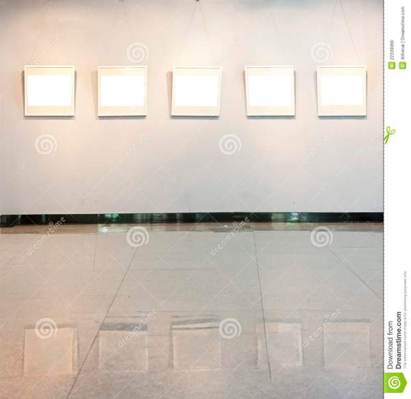 Blank Frame Wall Art Royalty Free Stock