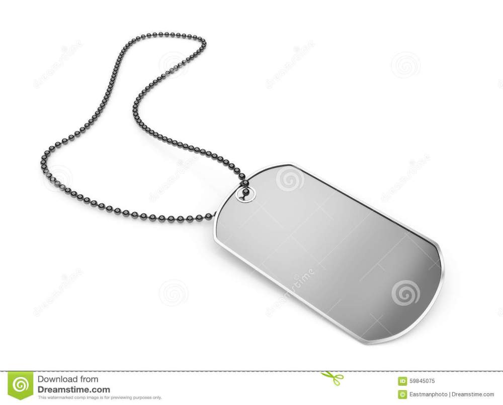 medium resolution of download blank metal dog tag isolated stock illustration illustration of metal background 59845075